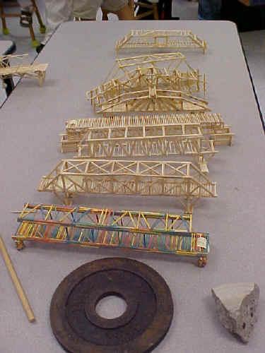 Famous Strong Toothpick Bridge Designs