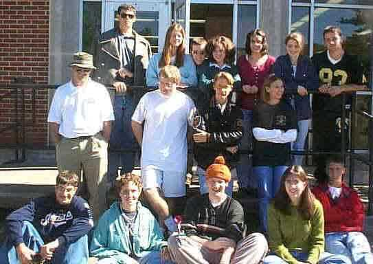 Mr Lewis Physics CLass 98-99 / 1st Term